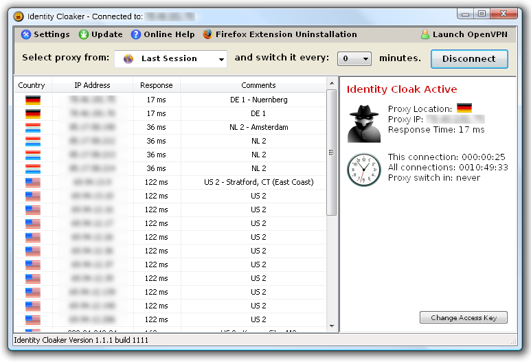 Identity Cloaker Review for Windows